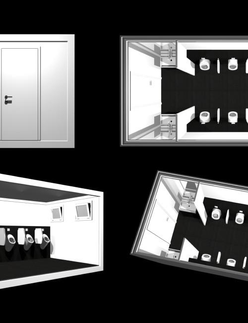 Progettazione servizi igienici prefabbricati