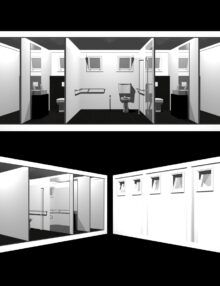 Produzione sistemi modulari prefabbricati