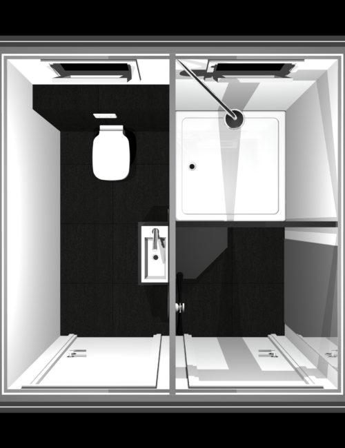 Produzione bagno doccia mobile